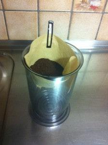 Unsere Wohngruppen-Kaffeemaschine