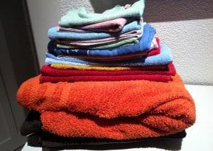 ... gefühlte 10kg Wäsche versorgt...