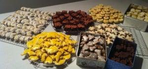 ...mit meinem Schwesterherz 8 Sorten Güezis produziert...