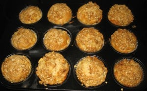 ... und zu Muffins verbacken...