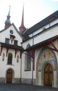 Luzern, Franziskanerkirche.