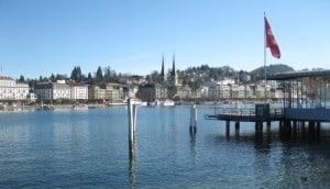 Luzern, Schifflände.
