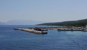Hafen Supetar.