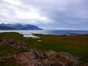 Vom Aussichtspunkt oberhalb des Dorfes hat man einen guten Überblick.